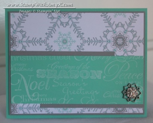 Greetings of the Season - Stamp With Amy K