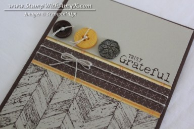 Truly Grateful 3 - Stamp With Amy K