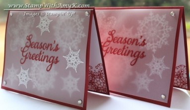 Joy to the World - Stamp With Amy K