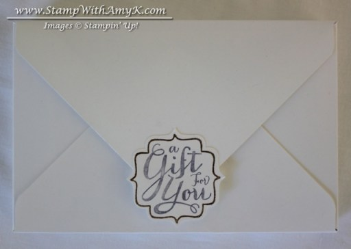 Simply Sketched Note Card Box Back - Stamp With Amy K