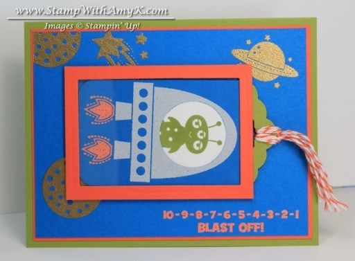 Blast Off - Stamp With Amy K
