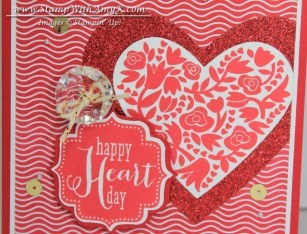 Flowerfull Heart Tags 4 You 1 - Stamp With Amy K