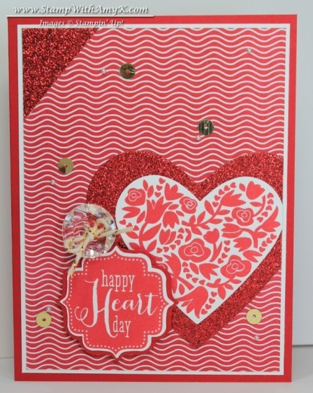 Flowerfull Heart Tags 4 You - Stamp With Amy K