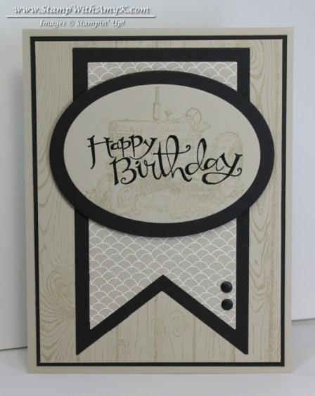 Hardwood - Stamp With Amy K