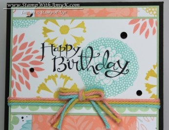 Petal Parade 3 - Stamp With Amy K