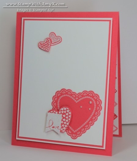 Hearts a Flutter 1 - Stamp With Amy K