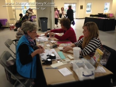 Heirloom Make & Take Table - Stamp With Amy K