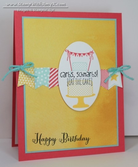 Make a Cake Banner Blast 2 - Stamp WIth Amy K
