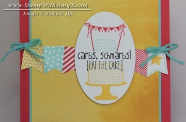 Make a Cake Banner Blast 3 - Stamp WIth Amy K