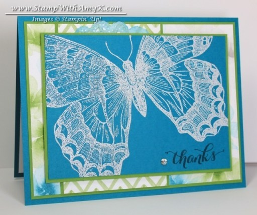 Swallowtail 1 - Stamp With Amy K