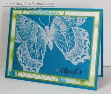 Swallowtail 2 - Stamp With Amy K