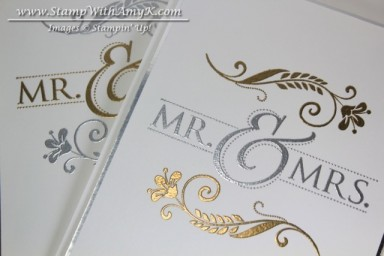Mr. & Mrs. 3 - Stamp With Amy K