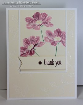 Peacefull Petals - Stamp With Amy K