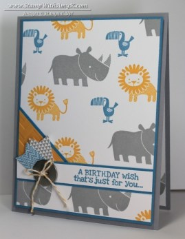 Zoo Babies 2 - Stamp With Amy K
