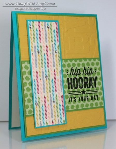 Hip Hip Hooray Card Kit - Stamp With Amy K