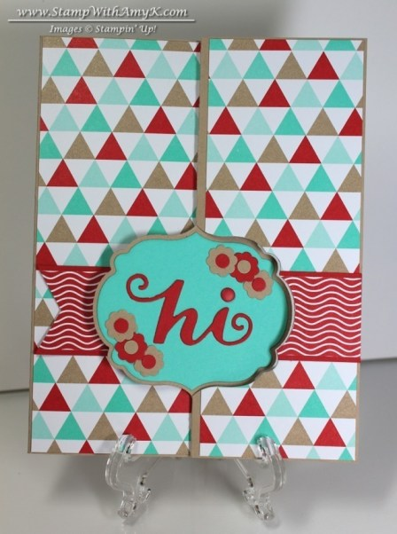 Label Card Thinlits Die - Stamp With Amy K