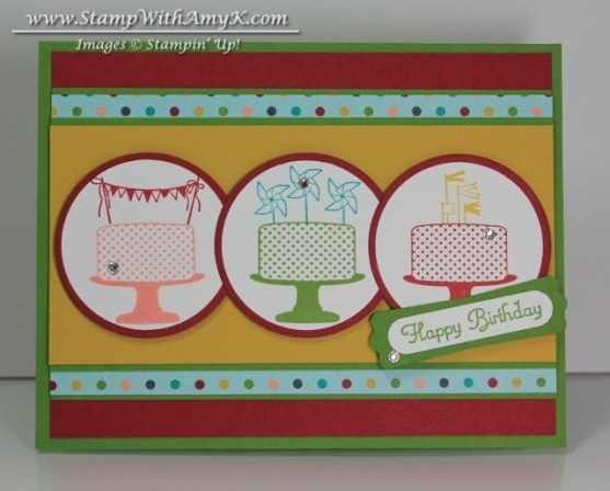 Make a Cake - Stamp With Amy K