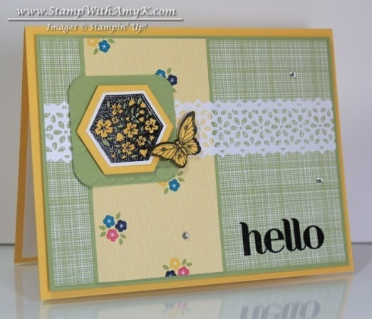 Six-Sided Sampler 1 - Stamp With Amy K