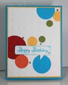 Remembering Your Birthday 1 - Stamp With Amy K