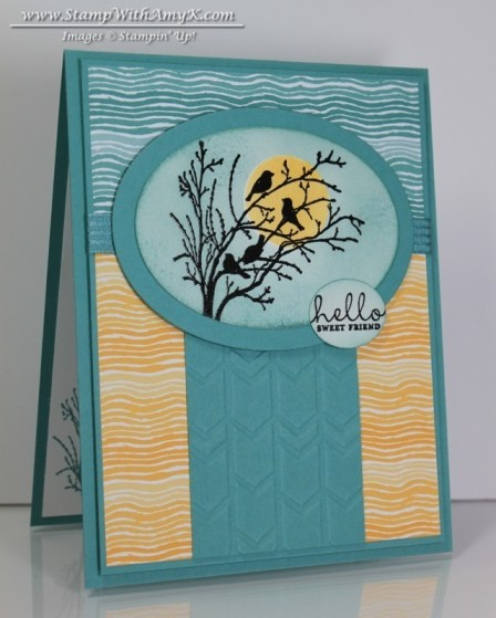 Serene Silhouettes - Stamp With Amy K