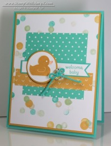 Something for Baby 2 - Stamp With Amy K