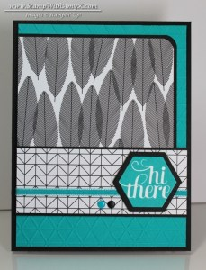 A Happy Hooray 1 - Stamp With Amy K