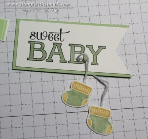 Baby, We've Grown - Stamp With Amy K