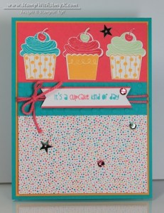 Cupcake Party 1 - Stamp With Amy K
