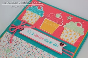 Cupcake Party 3 - Stamp With Amy K