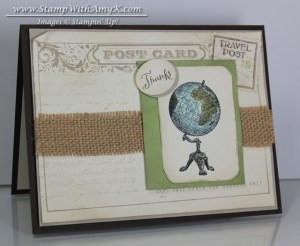 Post Card - Stamp With Amy K