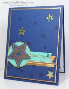 Be the Star 1 - Stamp With Amy K