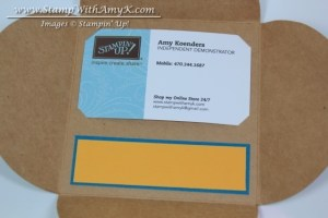 Gift Card Enclosure - Stamp With Amy K
