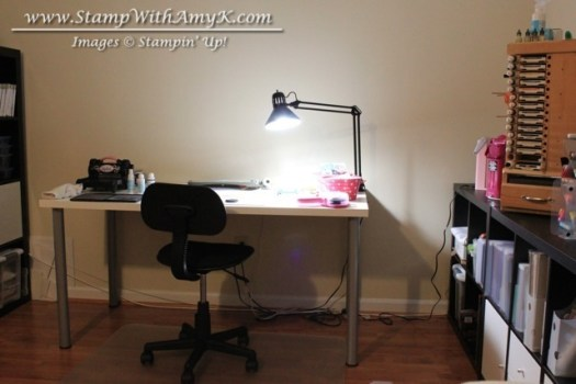 My Stamp Room Desk - Stamp WIth Amy K