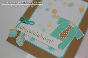 Something for Baby 3 - Stamp With Amy K
