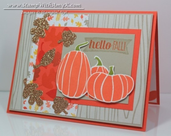 Fall Fest - Stamp With Amy K