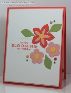 Flower Patch 1 - Stamp With Amy K