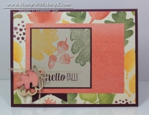 For All Things 1 - Stamp With Amy K
