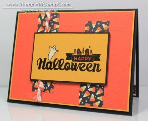 Halloween Street 2 - Stamp With Amy K