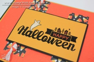 Halloween Street 3 - Stamp With Amy K