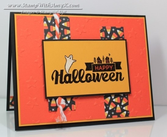 Halloween Street - Stamp With Amy K