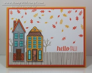 Holiday Home 2 - Stamp With Amy K