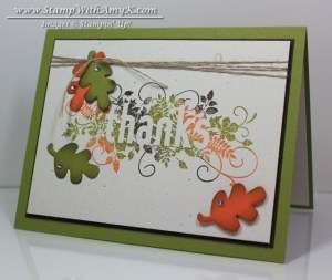 Seasonally Scattered 3 - Stamp With Amy K