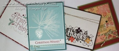 September Card Class - Stamp With Amy K