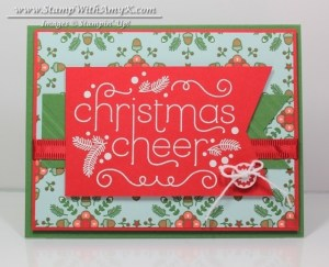Cheerful Christmas 2 - Stamp With Amy K