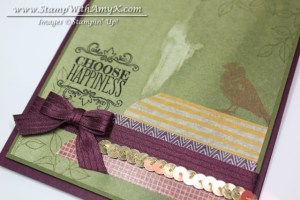 Choose Happiness 3 - Stamp With Amy K