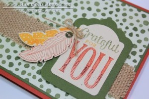 Four Feathers 1 - Stamp With Amy K