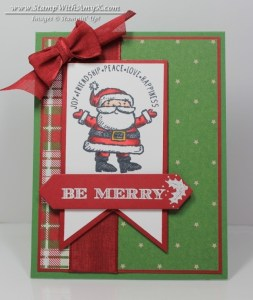 Get Your Santa On 2 - Stamp With Amy K