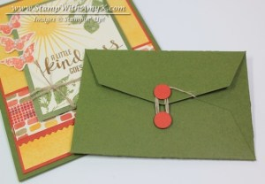 Gift Card Envelope & Trims Thinlits Dies - Stamp With Amy K