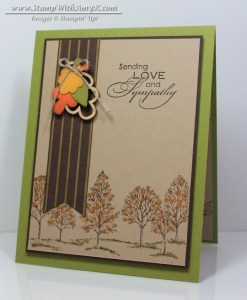 Love and Sympathy - Stamp With Amy K