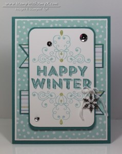 Wintertime 2 - Stamp With Amy K